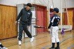 넥센 히어로즈, 초등학교 찾아 '일일 야구교실' 행사 진행