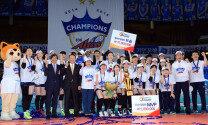 'V리그' IBK 기업은행, 화끈한 전승 우승… '퍼펙트 챔프'