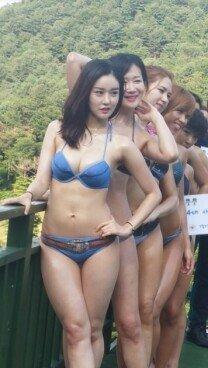 '2015 미스 섹시백' 뒤태 만들기 합숙훈련 사진 공개