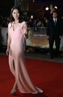 '대종상' 임지연, 핑크빛 여신의 우아한 드레스