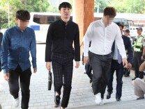 유상무, 성폭행 혐의 피의자 신분 소환 조사