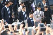'구리미' 이영-홍라온(박보검-김유정)의 경복궁 나들이