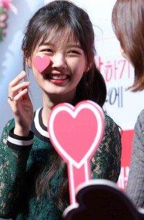 김유정, 얼굴이 하트 '상큼발랄'