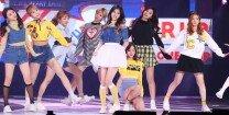'SBS파워 FM 20주년 콘서트' 트와이스, 샤샤샤~