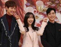 분위기 좋은 새 아침연속극 '아임쏘리 강남구' 제작발표회