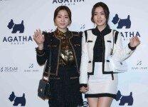 '아가타 골프' 한국 론칭 패션쇼를 찾은 스타들