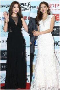 이태임-공서영, 블랙 VS 화이트 드레스 대결
