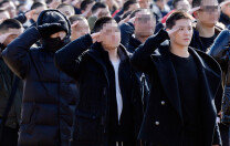 탑-김준수, 논산훈련소 동반입대
