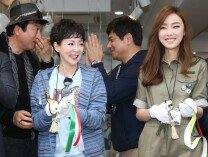 이상아,이상희,구새봄,김형종 오션퍼시픽 론칭 행사에 참석
