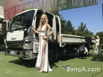 이스즈, 3.5톤 중형 트럭 '엘프(ELF)' 출시… 요정의 귀환