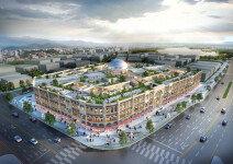 테라스에 광장까지, 유럽 닮은 쇼핑몰 '평택 가로수길 센트럴돔' 분양