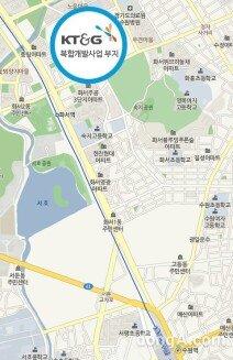 화서역 KT&G 부지 개발 논의 탄력… 대형 유통업체들 '군침'