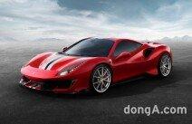 페라리, '488 피스타' 공개… 가장 강력한 V8 스페셜