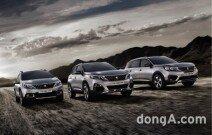 푸조, 2019년형 SUV 라인업 국내 판매가 공개… 55만~200만원 인상