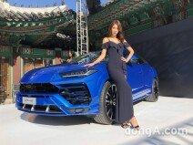 """슈퍼 SUV '람보르기니 우루스' 국내 공개… """"가장 저렴한 람보르기니"""""""