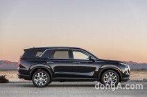 현대차, 8인승 SUV '팰리세이드' 세계 최초 공개