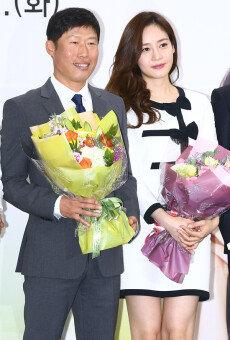 유해진-성유리, 2017 국세청 홍보대사 위촉