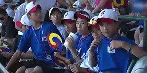 한국에 진 日 대표팀, 韓 유니폼 입고…