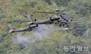 [화보] 육군항공 사격대회 현장…올해의 '탑헬리건'은?