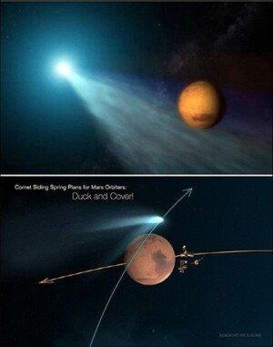 사이딩 스프링 혜성, 화성 접근…태양계 기원 단서 얻을까?
