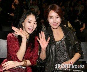서우 김윤서, 의외의 친분 과시…미녀들의 만남 '눈길'