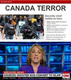 캐나다 국회의사당서 총격… 테러 경계등급 상향 'IS 소행가능성'