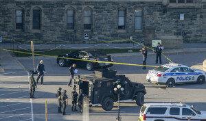 [화보] 캐나다 국회의사당 총기난사… 용의자-경비병 2명 사망