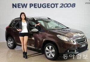 [화보] 도시형 CUV 모델 'New 푸조 2008' 신차발표회