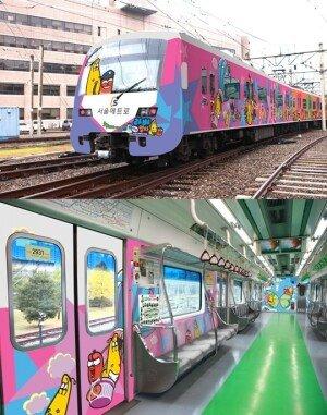 서울 라바 지하철, 11월부터 운행… 타요 버스 인기 넘을까?