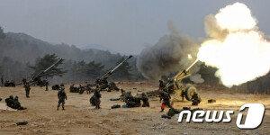 [화보] 육군 8군단, 해상 장거리 사격훈련 실시