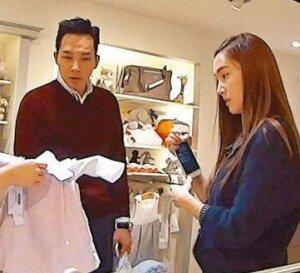 제시카-타일러 권, 홍콩서 동거?…유아용품점 등장