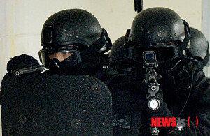 [화보] 군·경합동 인질테러 진압훈련 실시