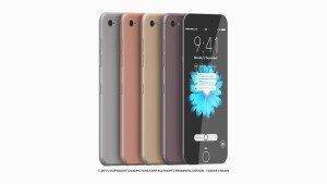 아이폰 7 콘셉트 디자인 공개… 와인색 추가, 가벼워진 무게