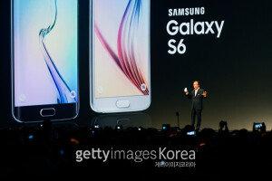 [화보] 삼성, 갤럭시S6·S6 엣지 공개… 4월 출시 예정