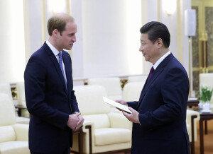 英 윌리엄 왕세손, 중국 방문… '왕실이 양국 협력 가교 놓나'