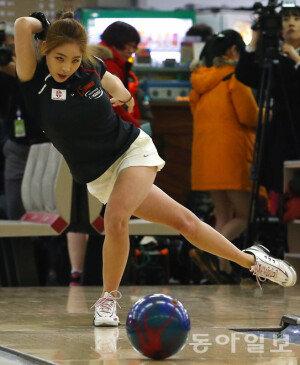 [화보] '원조 체조요정' 신수지, 프로볼링 선수로 변신
