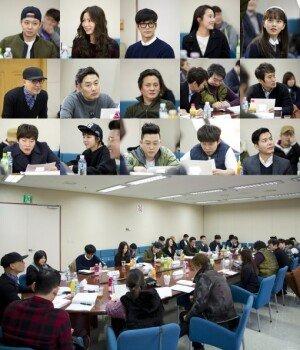 박유천·신세경, '냄새를 보는 소녀' 연기 어땠나… 첫 대본 리딩 현장 공개