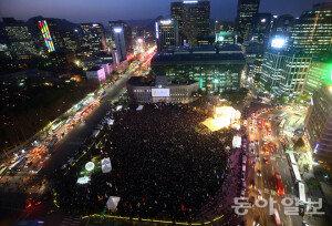 세월호 1주년 추모행사가 성토대회로… 밤늦게까지 서울도심 극심 혼잡