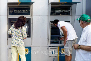 [화보] 그리스 은행영업 중단… 세계증시 폭락
