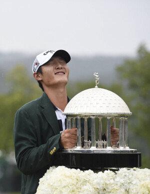 """[화보] '뉴질랜드 교포' 대니 리, PGA 첫 승…""""와우! 대니보이"""""""