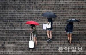 전국 흐리고 비, 서울·경기 20~60㎜…일부지역 폭염주의보