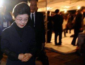 """박 대통령 여동생 박근령 """"일본에 과거사 사과 요구 부당"""" 발언"""