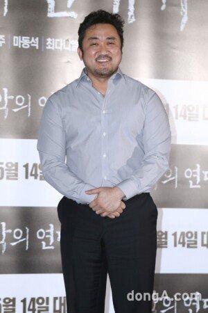 """'함정' 마동석, 백숙집 주인 역 고충 토로 """"한동안 닭 못 먹었다"""""""