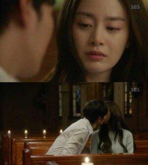 '용팔이' 김태희·주원, 성당 키스 '로맨틱'… 시청률 20% '성공적'