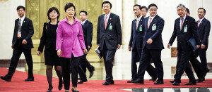 朴대통령, 시진핑 中주석과 정상회담