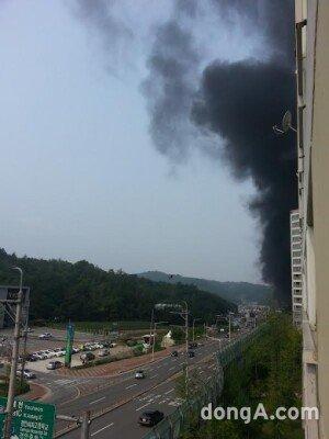 구미 화재, 스티로폼 타면서 검은 연기 치솟아… 피해 규모는?