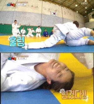 '예체능' 이재윤, 올림픽 금메달리스트 상대 뒤집기 깜짝 승리
