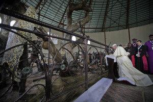 프란치스코 교황, 우간다 가톨릭 성지 방문