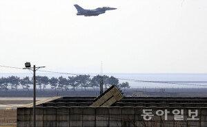 [화보] 한미일 합참의장 '사드 배치' 논의… '발진하는 미공군 F-16'