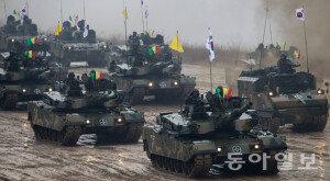 [화보] 육군 기계화보병사단, 대규모 기동훈련 실시…'적을 격멸하라'